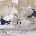 "Escif ""P2P"" New Mural In Valencia, Spain"