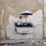 "Escif ""Waiting For The Storm"" New Street Piece In Valencia, Spain"