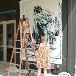 Bast x Faile New Mural In Progress, Miami