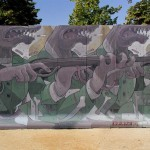 Aryz New Mural – Barcelona, Spain