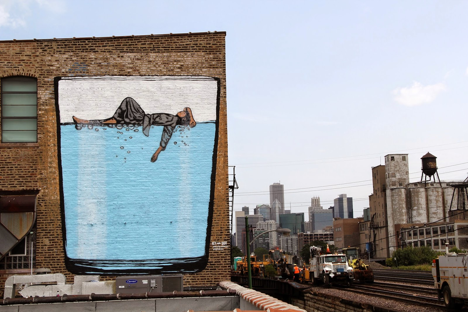 Icy & Sot New Mural – Chicago, USA