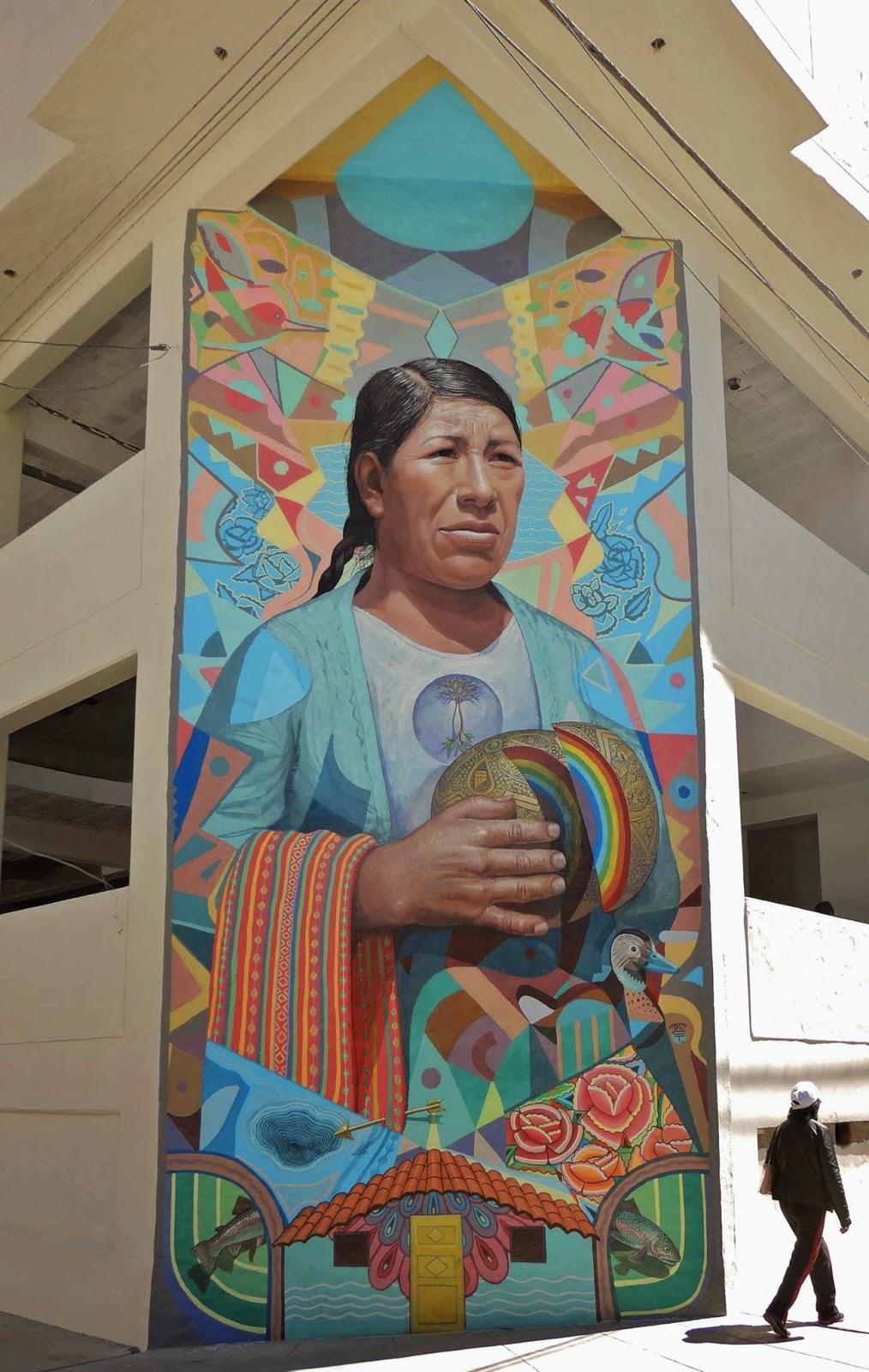El Decertor New Mural – El Tambo, Peru
