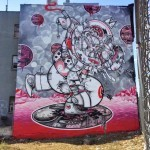 "How Nosm ""Red Hot Summer Day"" New Mural – New York City, USA"