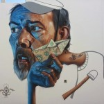 Belin creates a new mural for Puerto Street Art in Spain