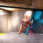 Case creates a new indoor piece in Basel, Switzerland