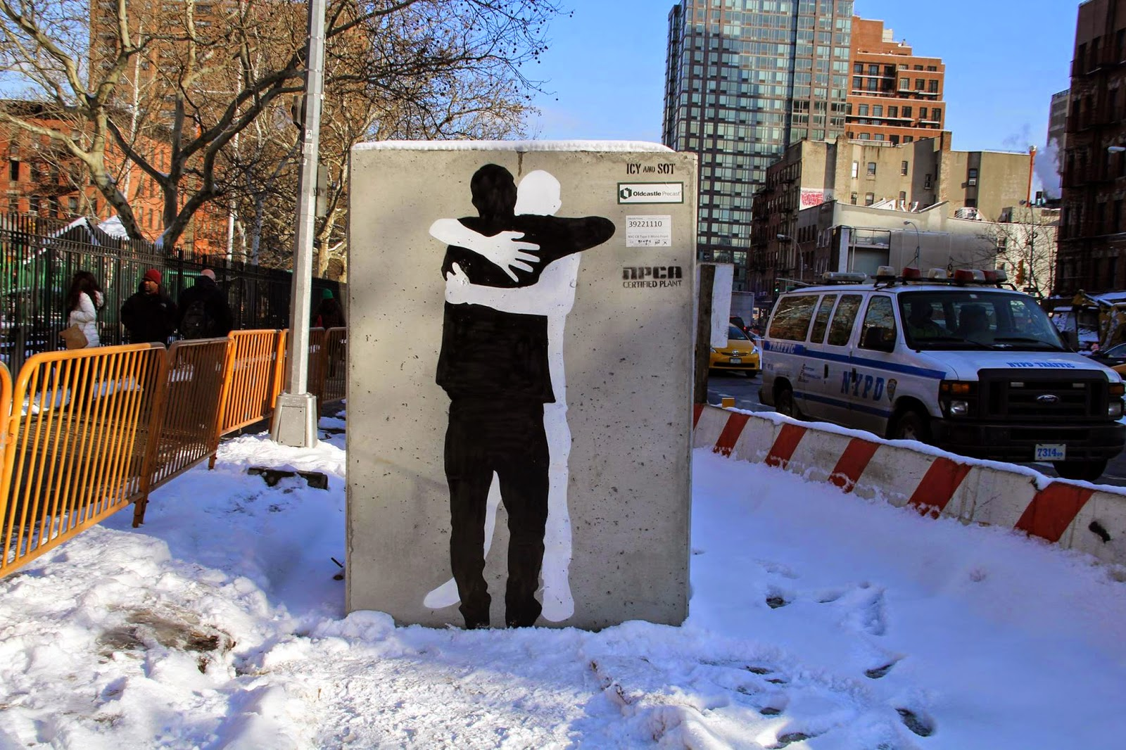 Icy & Sot unveil a brilliant street piece in New York City, USA