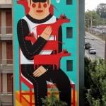 Agostino Iacurci New Mural In Atlanta, USA