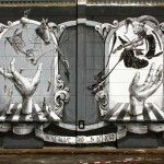 """Dome """"To Be Alive And To Be Dead"""" New Mural – Wiesbaden, Germany"""