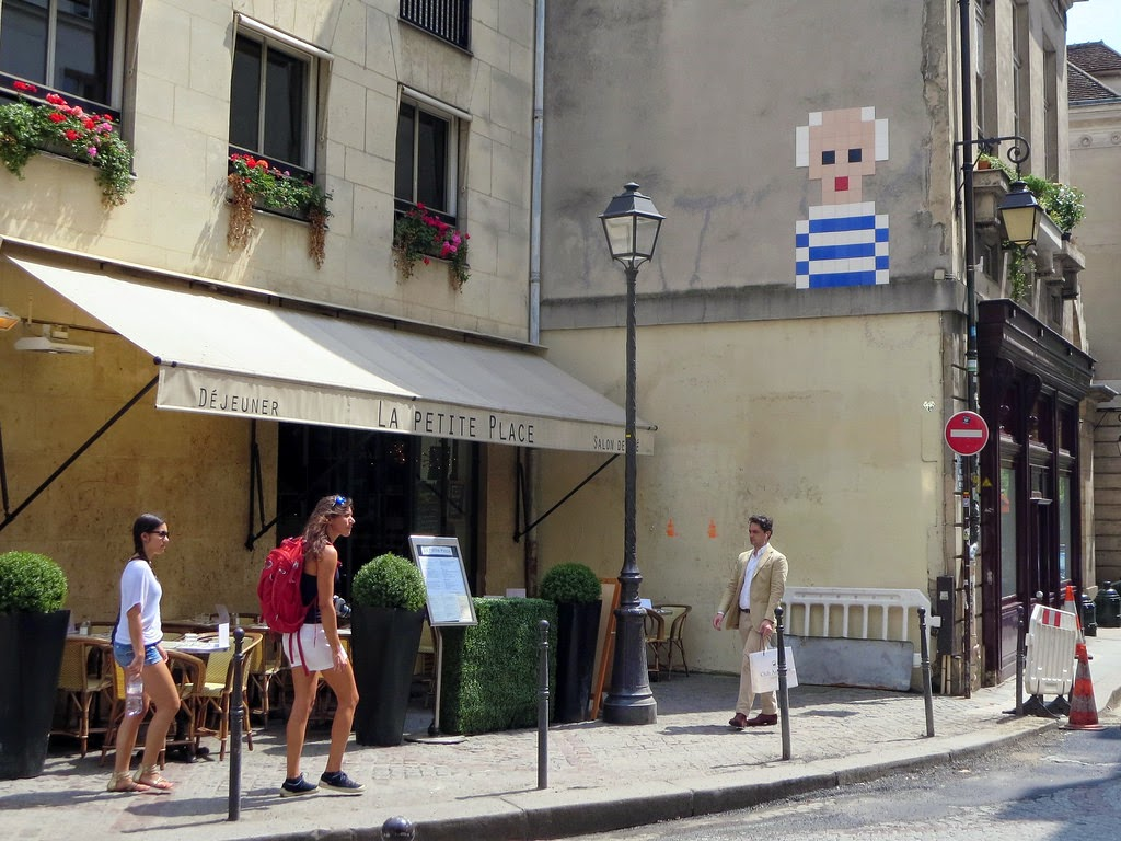 Invader New July '14 Invasions – Paris, France