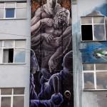 "Alaniz ""The Fallen Saints"" New Mural – Crimmitschau, Germany"