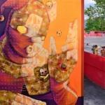 INTI New Mural For Huellas del Arte – Maracay, Venezuela