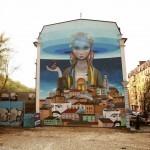 Seth x Kislow New Mural – Kiev, Ukraine