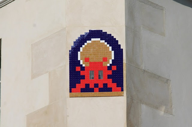 """""""PA_1171 & PA_1173"""", new invasions by Invader in Paris, France"""