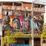 """Eduardo Kobra """"Racionais MC's"""" New Mural – Sao Paulo, Brazil"""