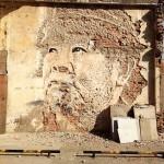 Vhils New Mural In Shanghai