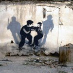 Icy And Sot New Street Piece In Tabriz, Iran