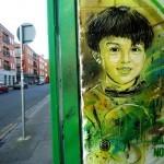 C215 New Street Pieces In Dublin, Ireland