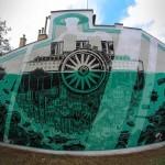 M-City New Mural In Krakow, Poland