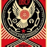 """Shepard Fairey """"Peace And Freedom Dove"""" Limited Edition Screen Print"""