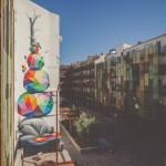 Okuda New Mural For Asalto '13 In Zaragoza, Spain