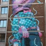 Aryz New Mural In Bristol, UK