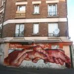 Gaia New Mural In Vitry, France