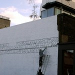 Tilt New Mural In Progress, London