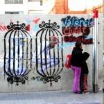 """VinZ """"València Ciutat Educadora"""" New Street Piece In Valencia, Spain"""
