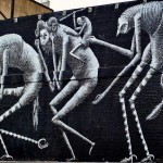 Phlegm New Mural In London, UK