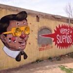 """Pixel Pancho """"Venta De Suenos"""" New Mural – Juarez, Mexico"""