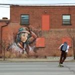 Alice New Murals In Ithaca, USA
