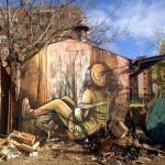 Alice New Mural at La Neomudejar de Atocha – Madrid, Spain