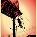 """Shepard Fairey """"Bayshore Billboard"""" New Print Available March 10th"""