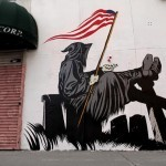 """DFace """"Grim Tales"""" New Mural In New York City"""