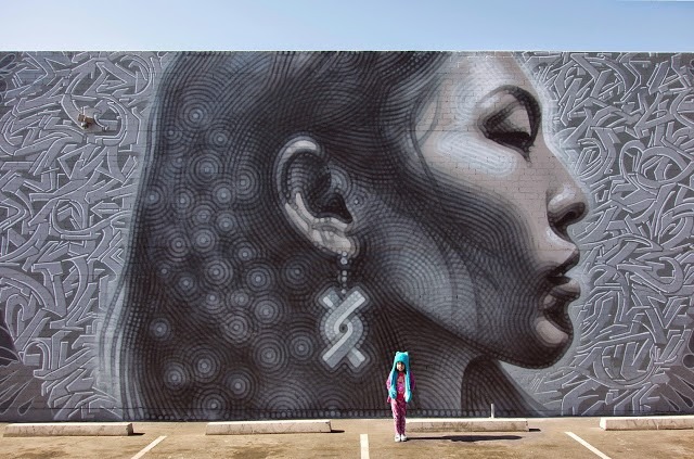 """Nuestra Gente"", a new mural by El Mac in Phoenix, Arizona"