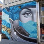 Tristan Eaton & Cycle's new mural in WIlliamsburg, Brooklyn, NYC