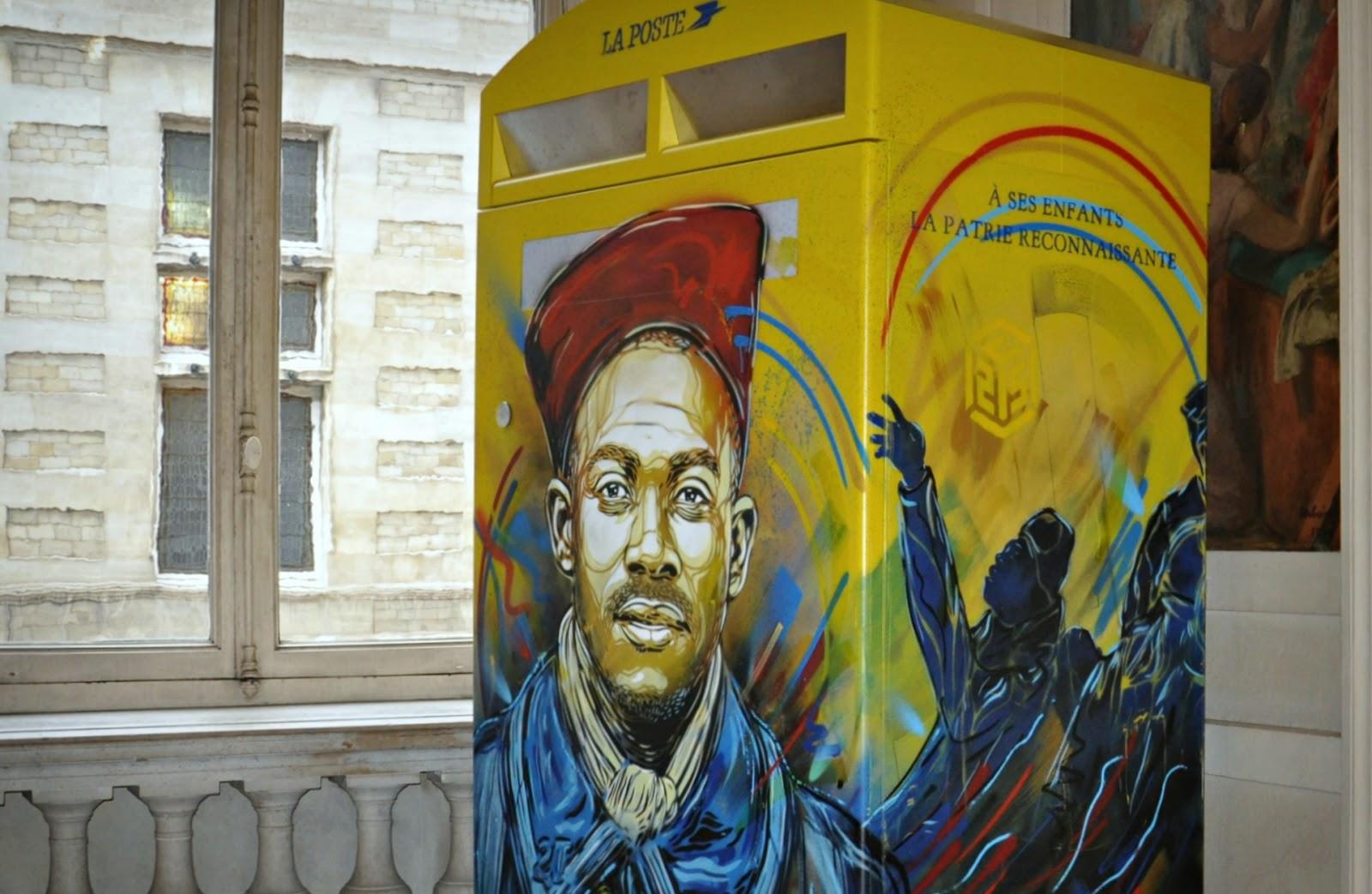 Coverage: C215 'Douce France' Solo Exhibition @ Paris 13 Town Hall