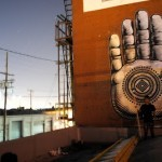 "Cryptik New ""Buddha Palm"" Mural In Los Angeles"