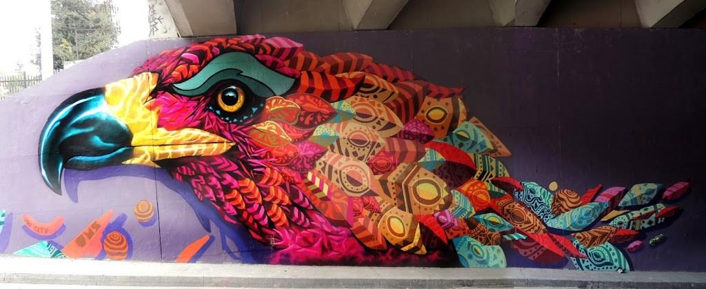 Farid Rueda new pieces in Bogota, Colombia