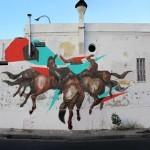 JAZ x Elian New Mural In Cordoba, Argentina