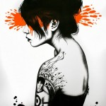 "FinDAC ""Moonchild"" Limited Edition Screen Print"