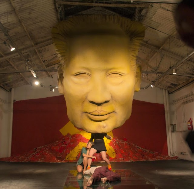"""Coverage: """"头部 (The Head)"""", a solo show by Ever in Buenos Aires, Argentina"""