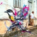 L7M creates a new street piece in Sao Paulo, Brazil