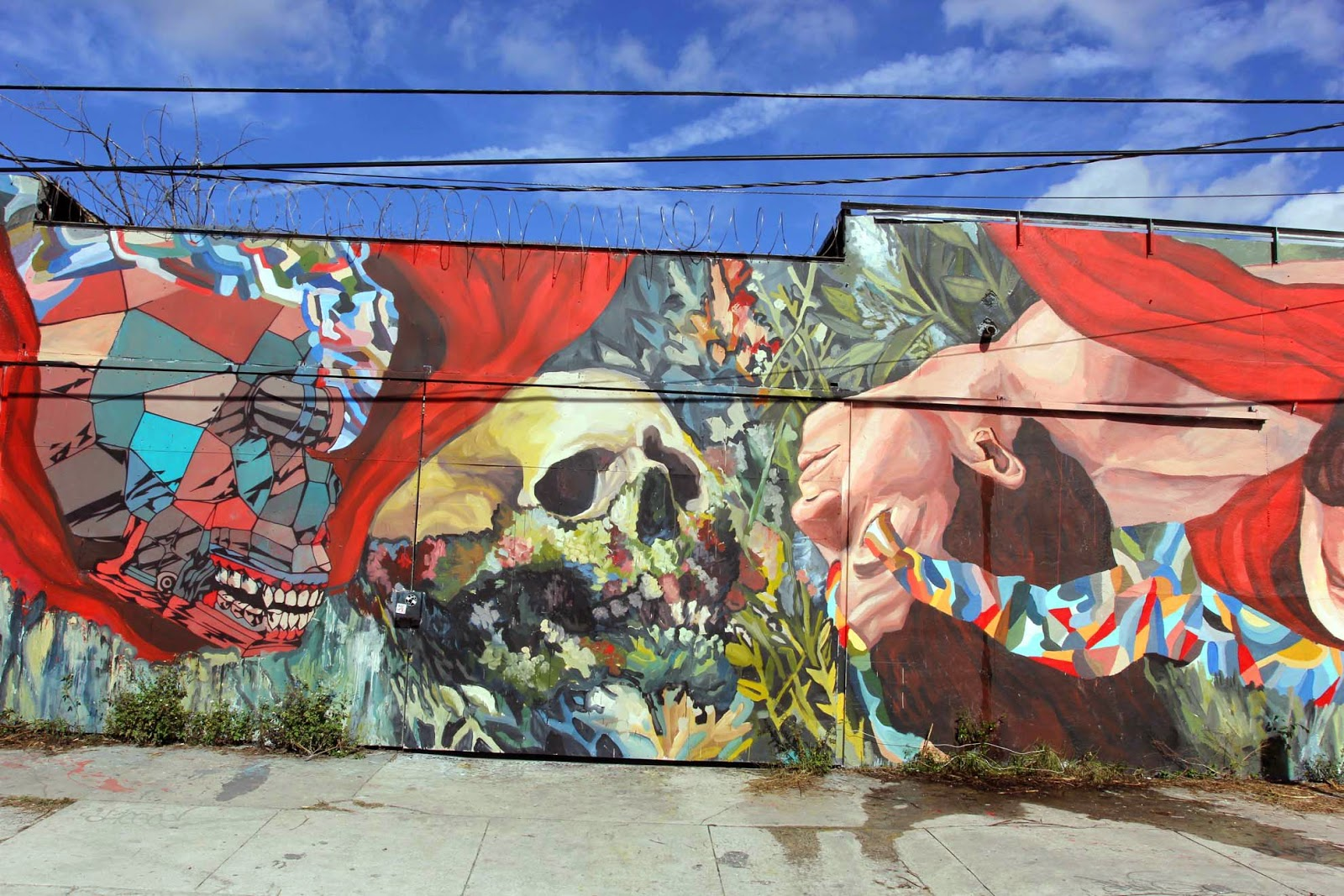 Art Basel '14: Ever and Smithe collaborate on a new mural in Wynwood, Miami