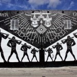 Art Basel '14: Shepard Fairey and Cleon Peterson collaborate on new pieces in Miami