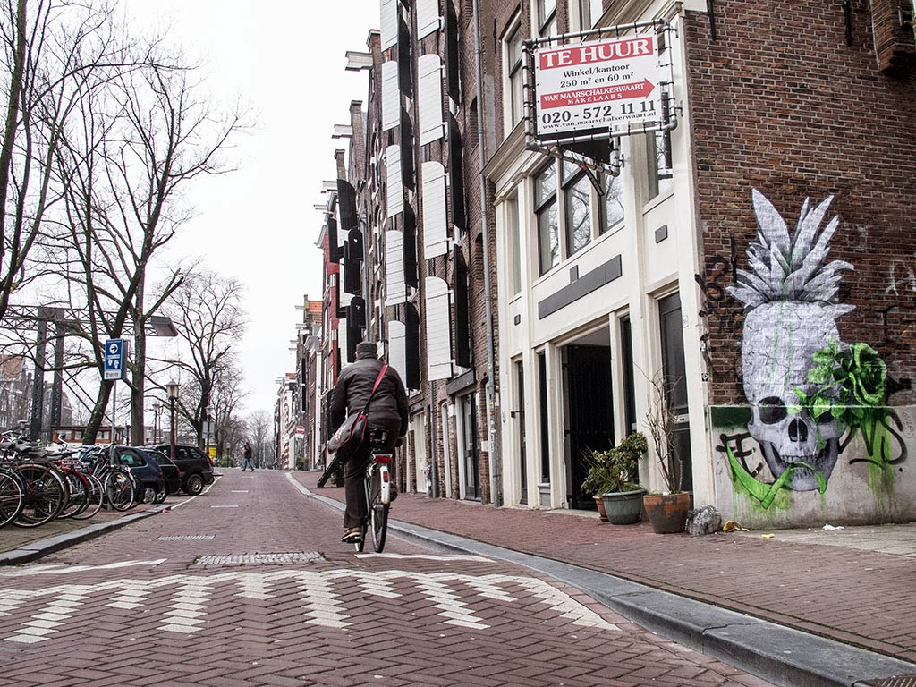 Ludo on the streets of Amsterdam, Netherlands (Part II)