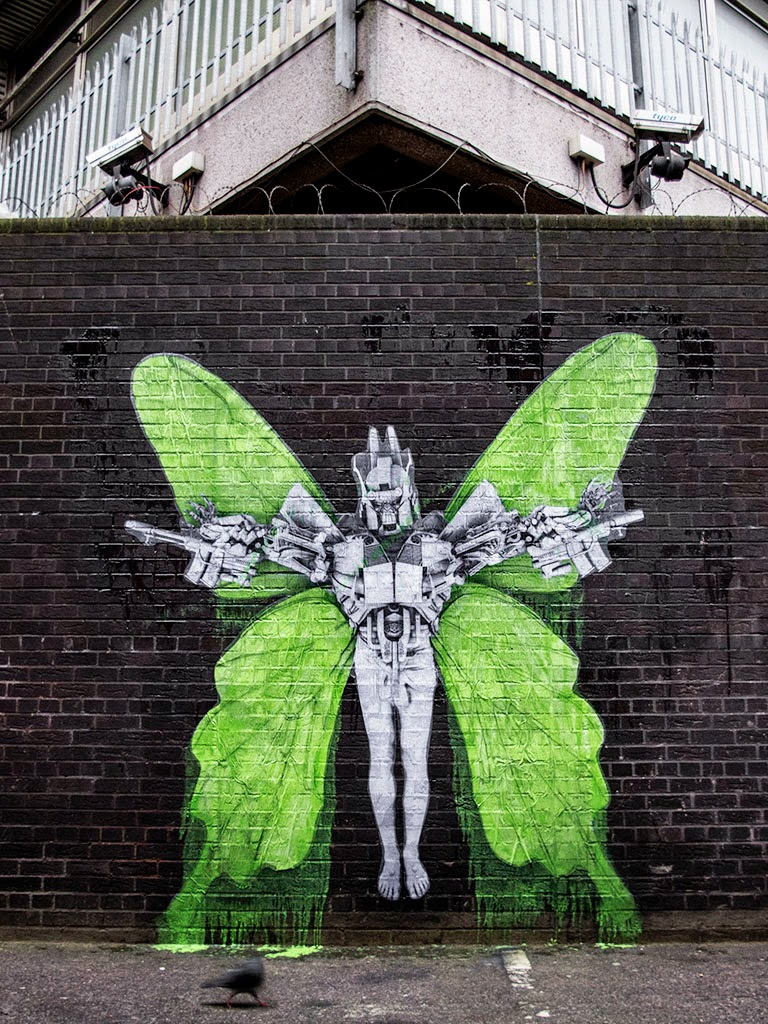 Ludo brings new pieces to the streets of London, UK (Part II)