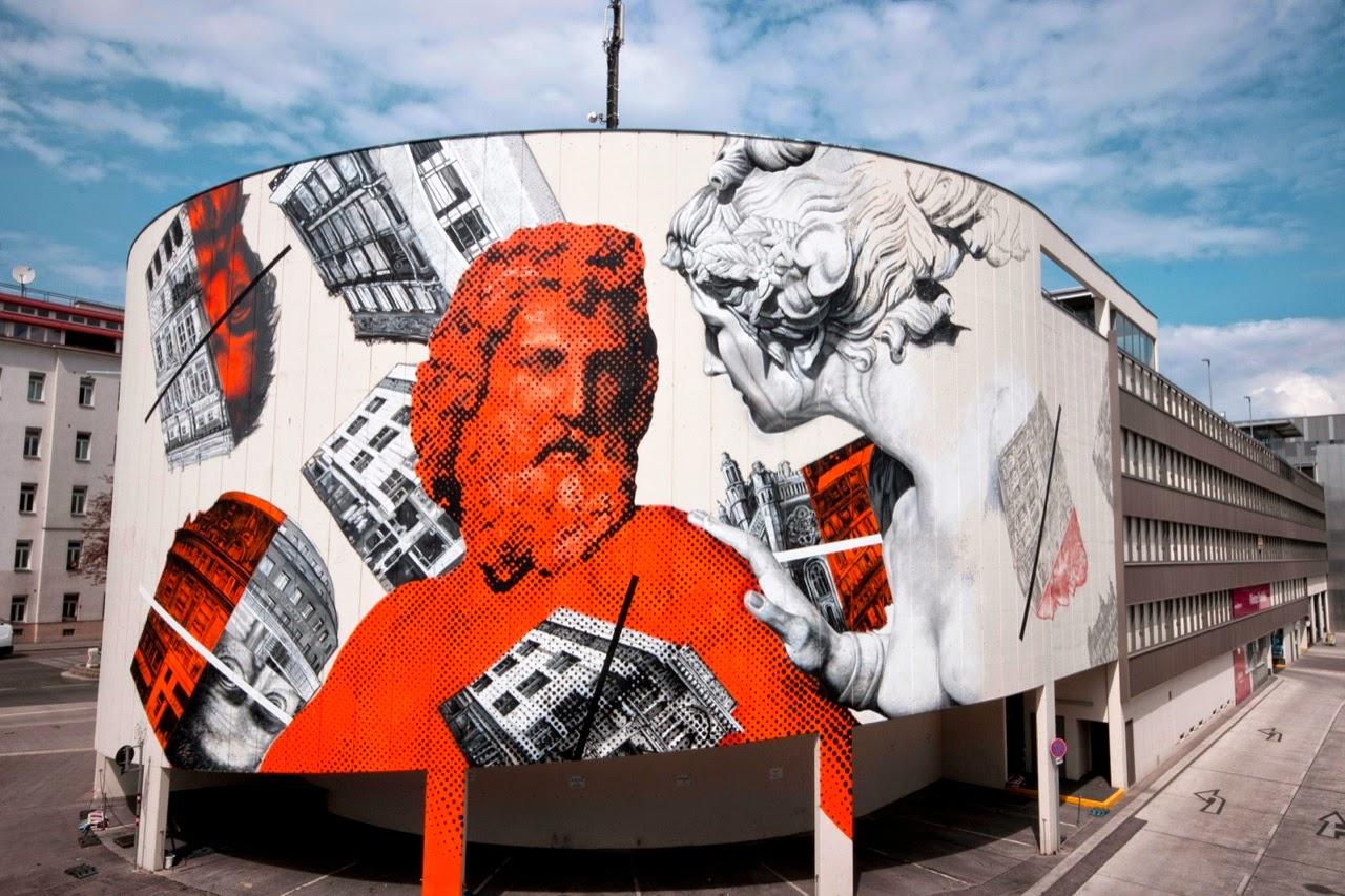 Gaia x Cyrcle New Mural – Vienna, Austria