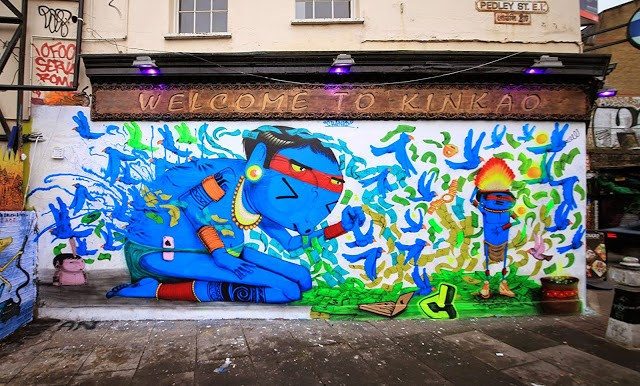 Cranio unveils a new mural on the streets of East London