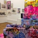 """Tilt """"Panic Banksy Room"""", new indoor installation in Christchurch, New Zealand"""